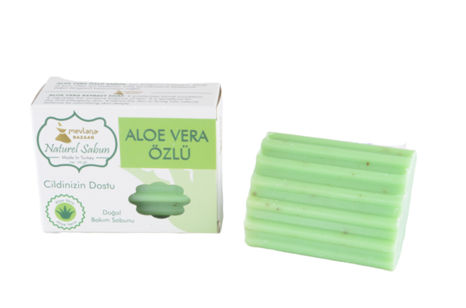 MEVLANA SOAP WITH ALOEVERA resmi