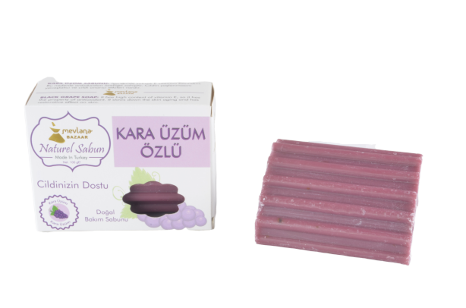 MEVLANA SOAP WITH BLACK GRAPES resmi