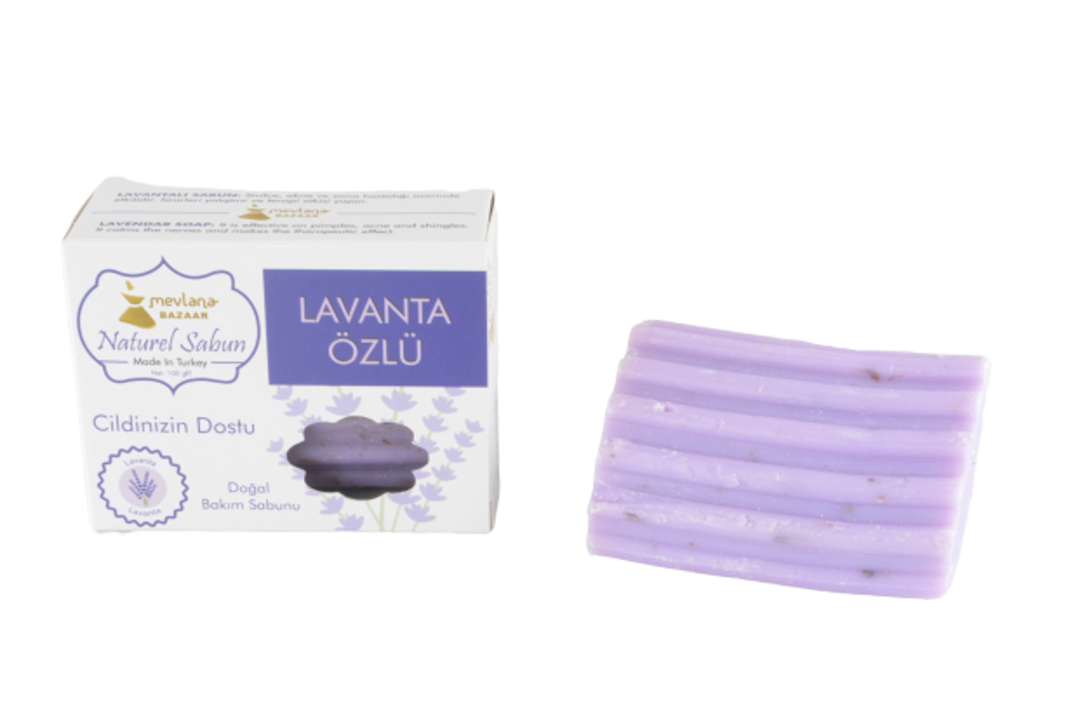 MEVLANA SOAP WITH LAVANDER resmi