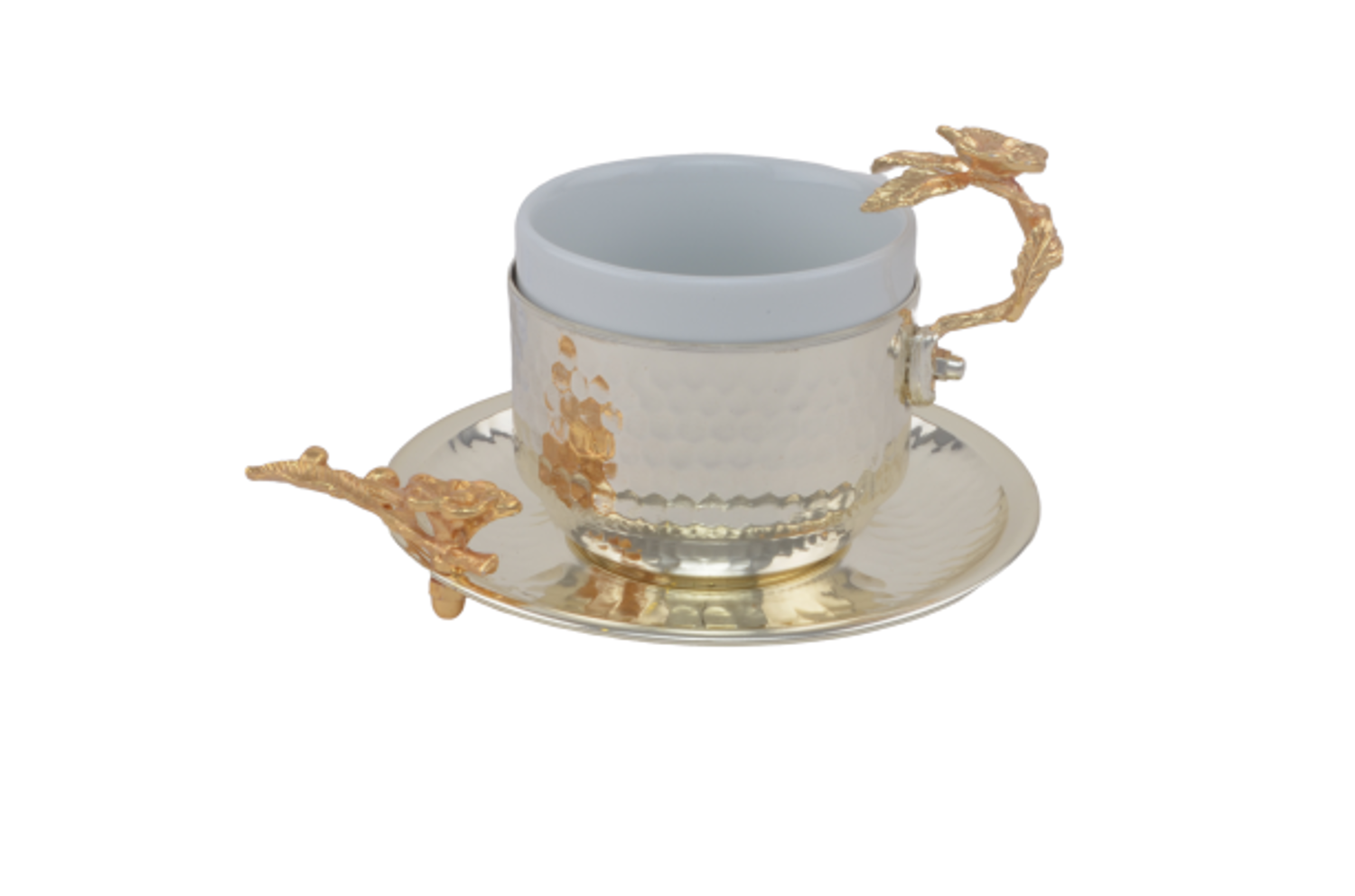 MEVLANA TURKISH COFFEE CUP SILVER resmi