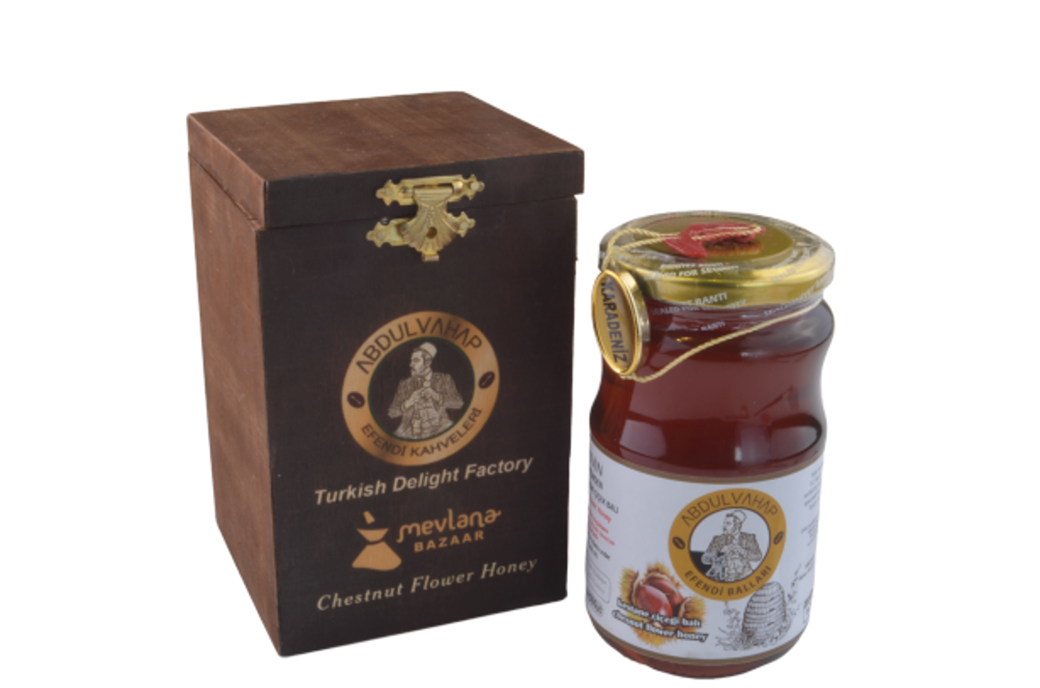 Picture of MEVLANA CHESTNUT HONEY 450 GR