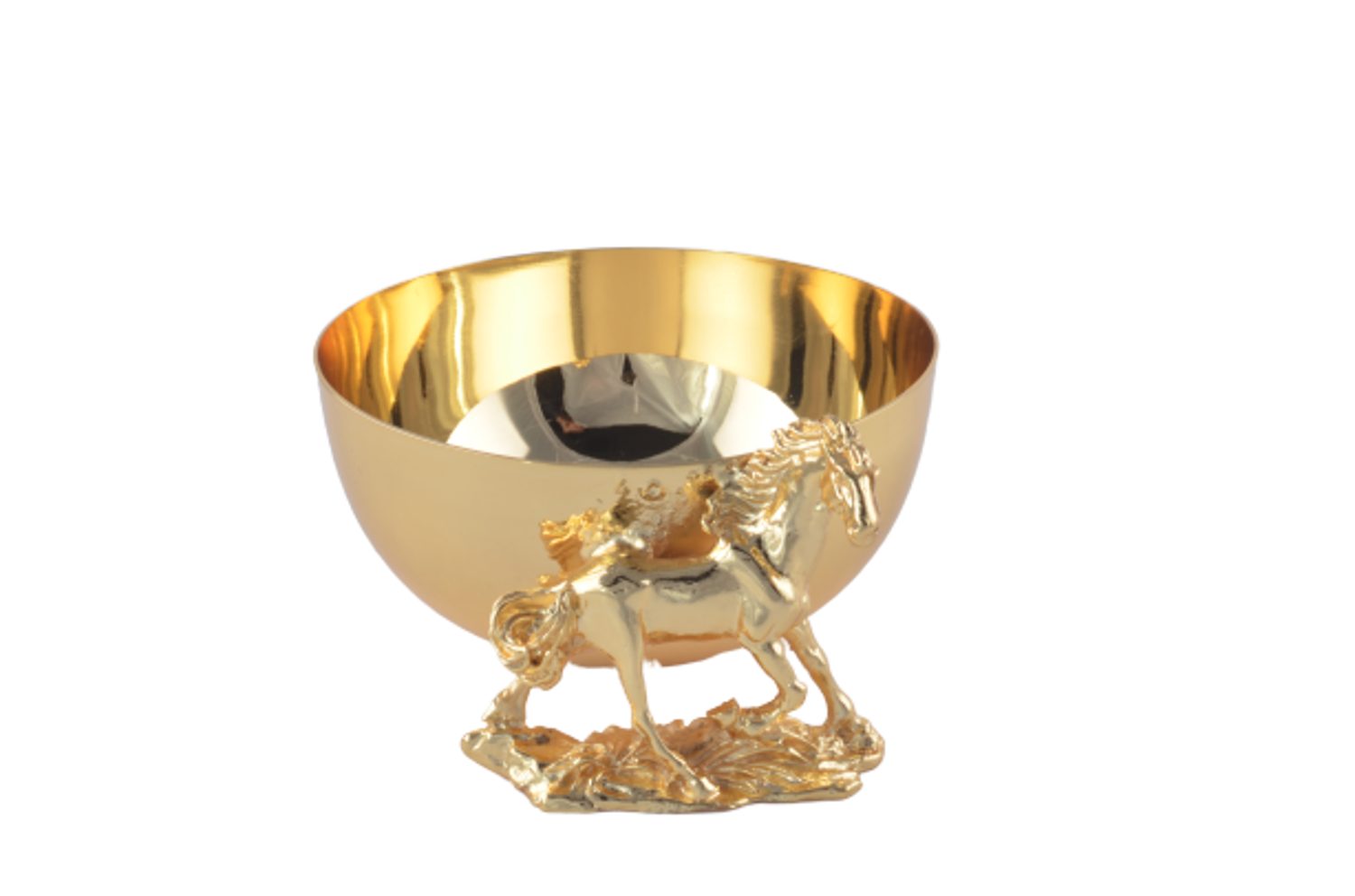 MEVLANA BOWL WITH HORSE resmi
