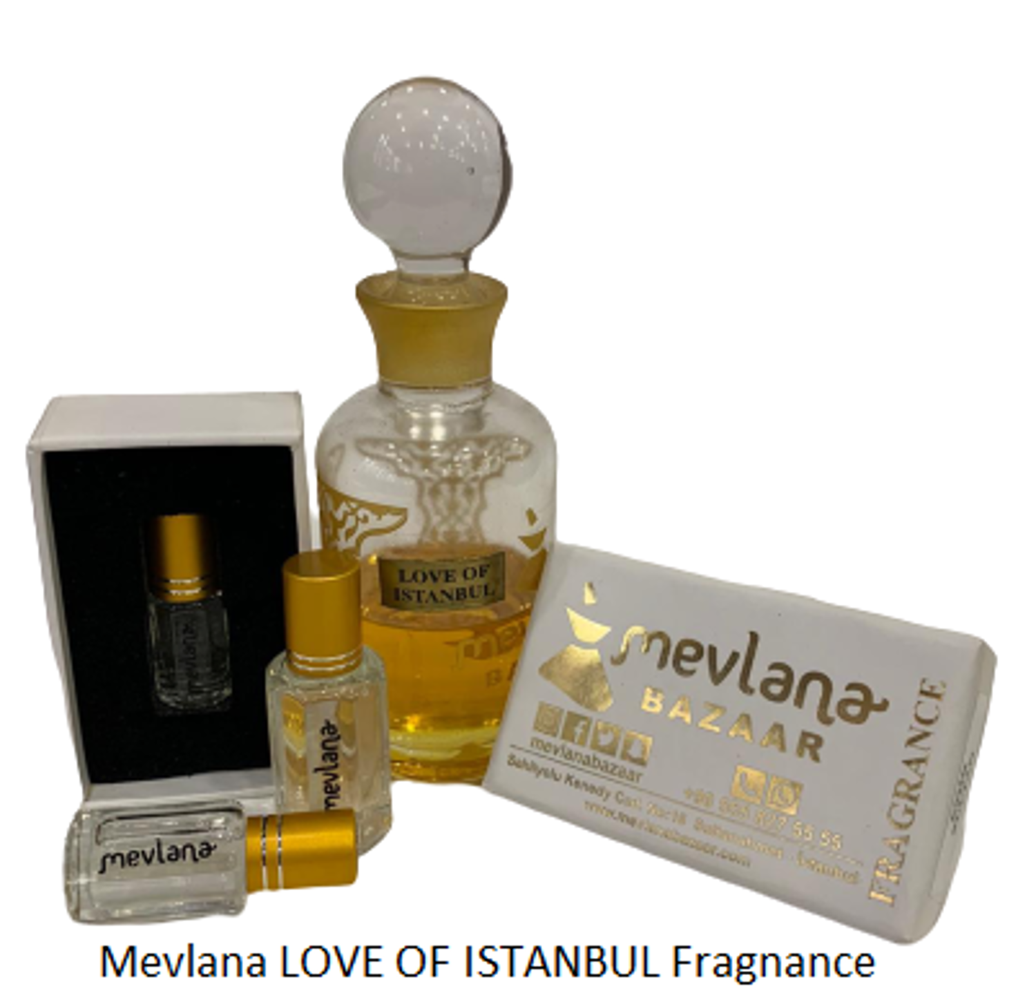 Picture of MEVLANA FRAGNANCE LOVE OF ISTANBUL