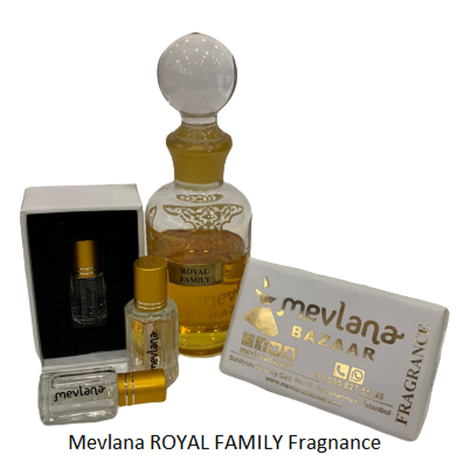 MEVLANA FRAGNANCE ROYAL FAMILY resmi