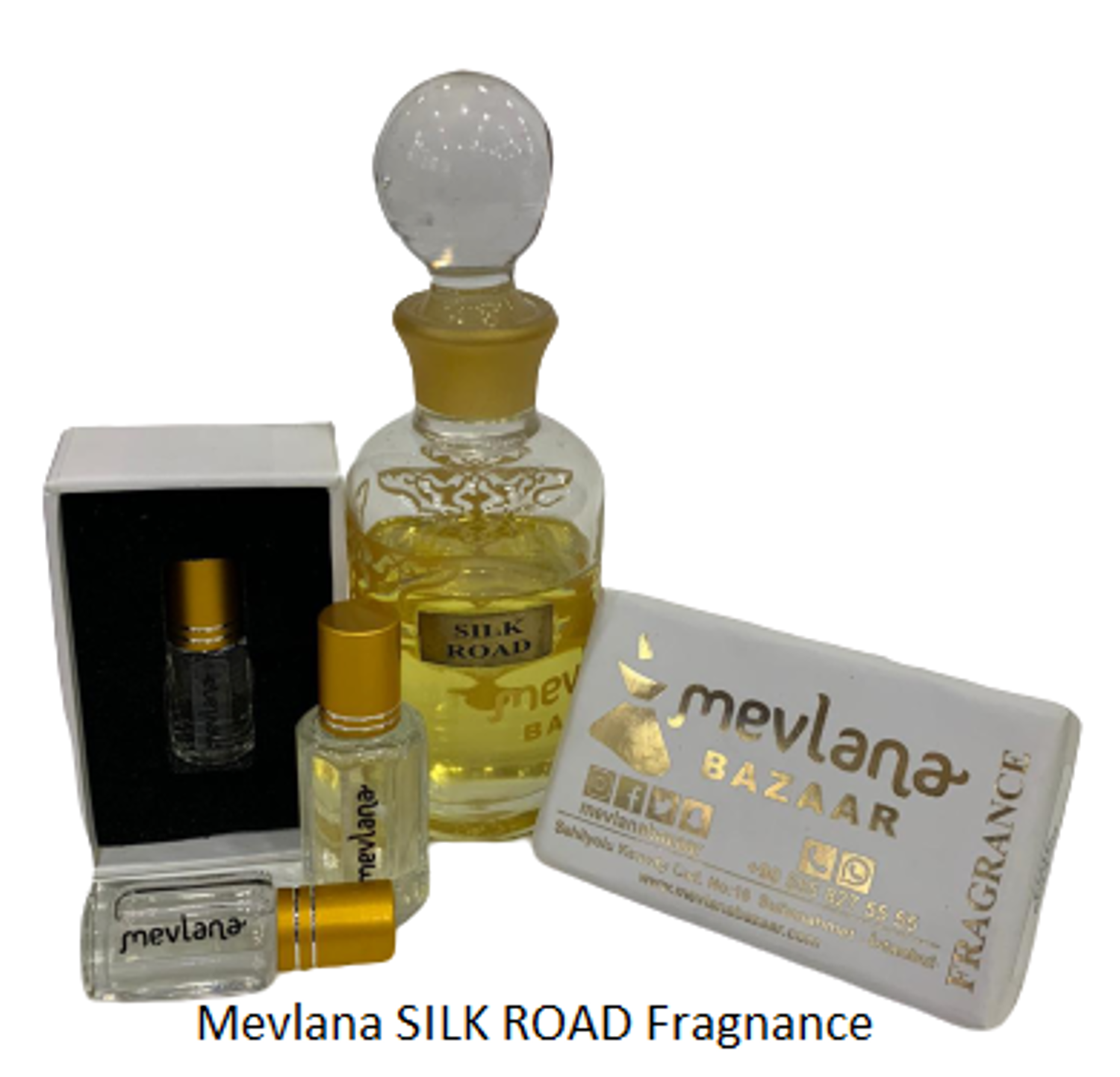 Picture of MEVLANA FRAGNANCE SILK ROAD