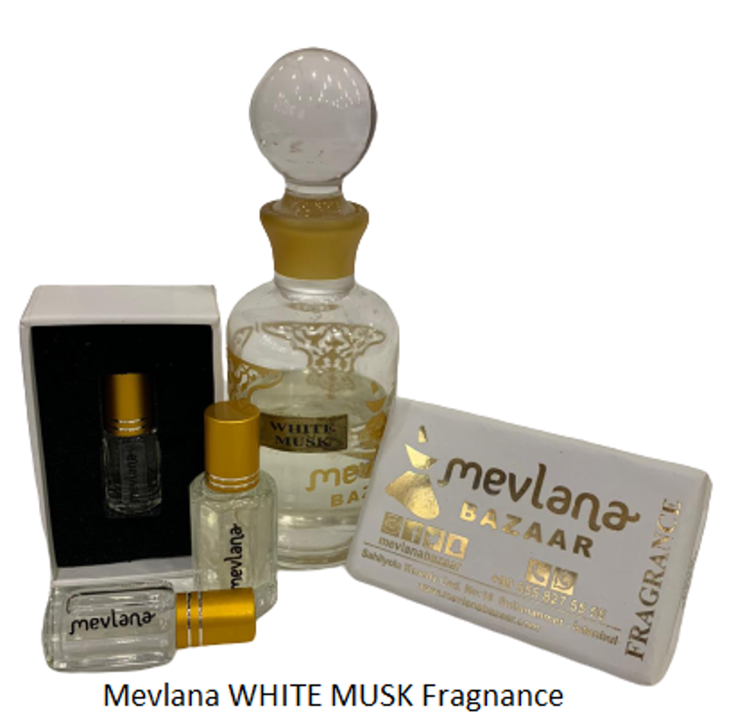 Picture of MEVLANA FRAGNANCE WHITE MUSK