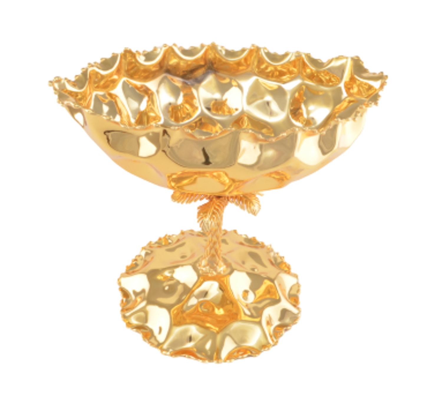 Picture of MEVLANA BOWL FOOTED GONDOLA GOLD