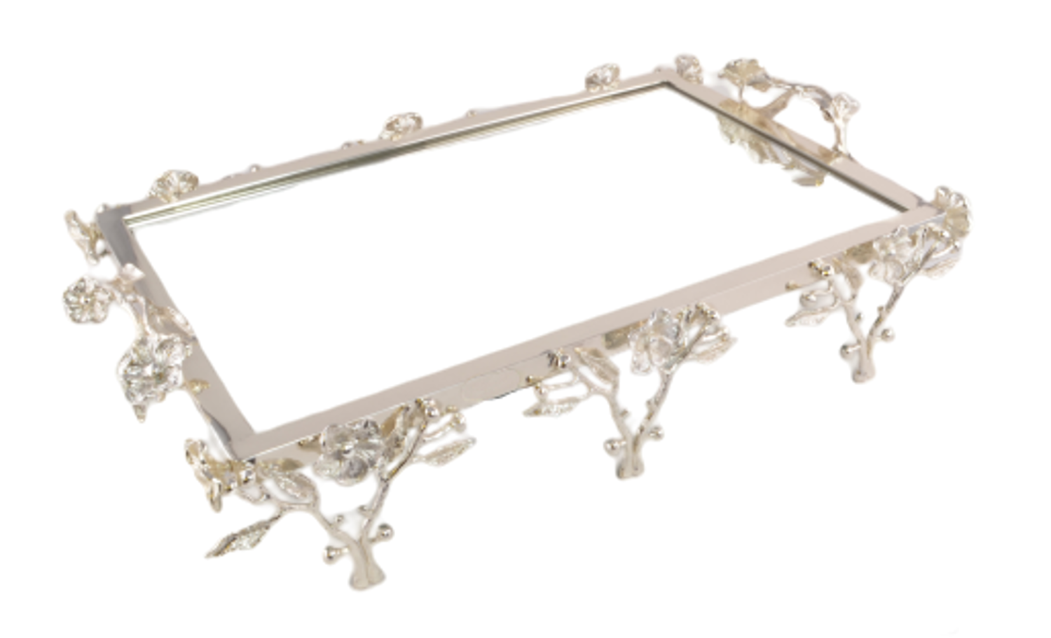 Picture of MEVLANA TRAIL RECTANGLE IVY SILVER WITH MIRROR