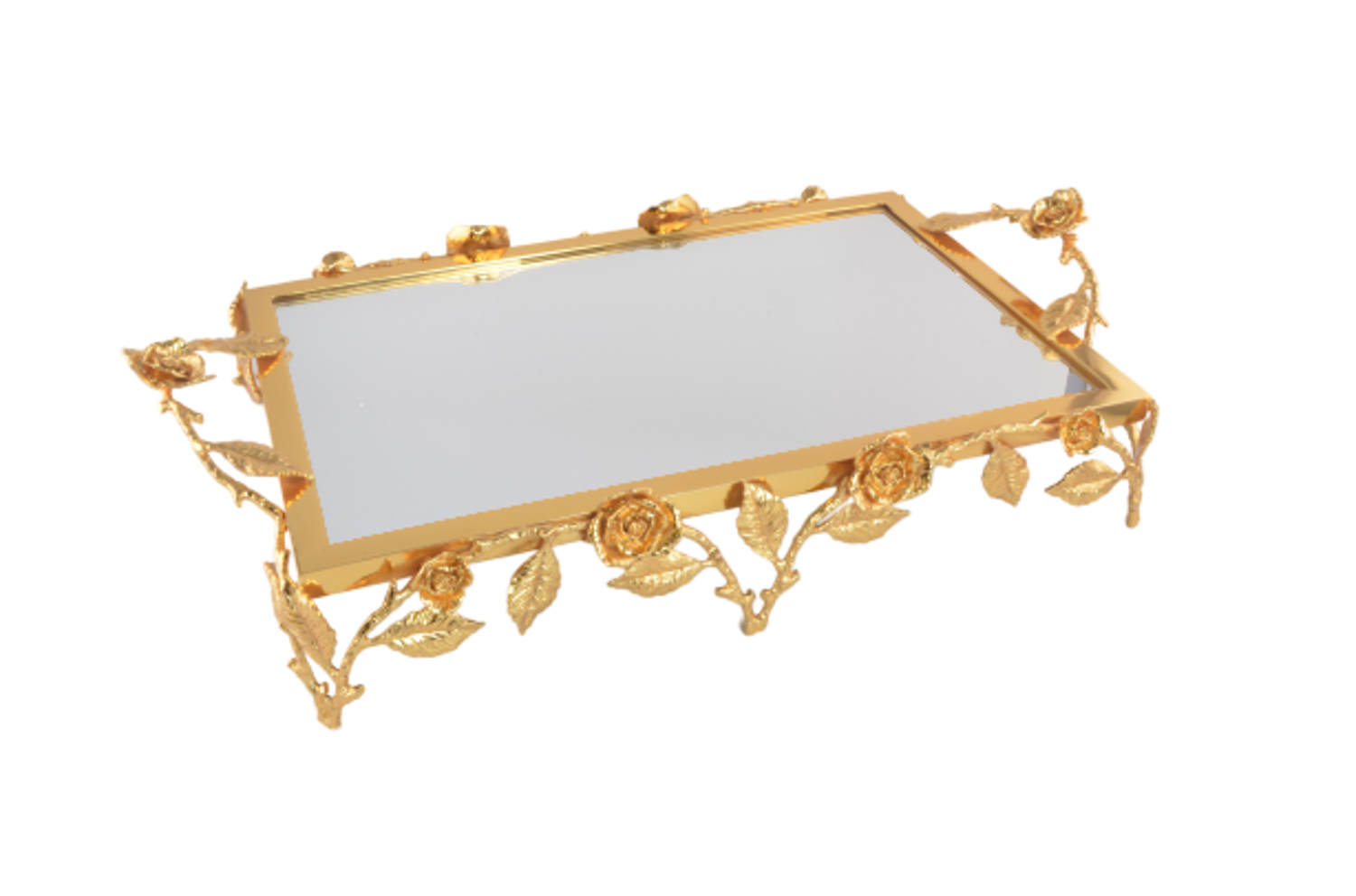 MEVLANA TRAIL RECTANGLE IVY GOLD WITH MIRROR resmi