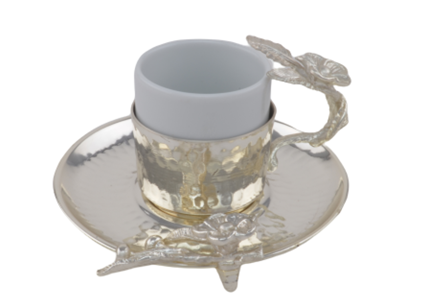 Picture of MEVLANA TURKISH COFFEE CUP SILVER