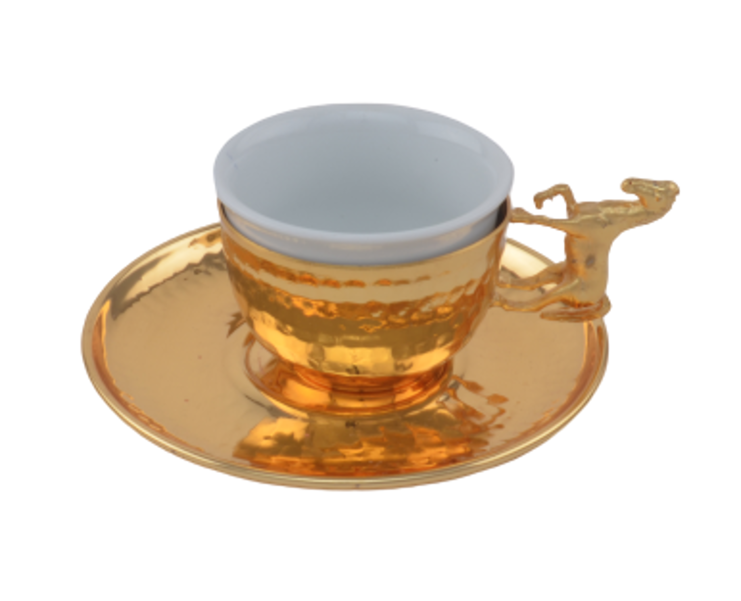 Picture of MEVLANA ARABIAN COFFEE CUP GOLD HORSE