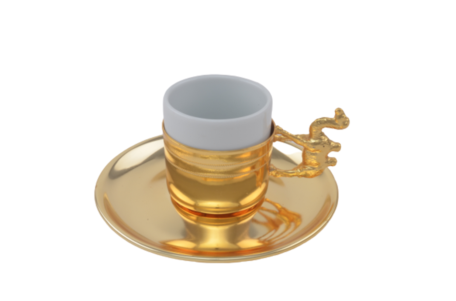 Picture of MEVLANA TURKISH COFFEE CUP GOLD CAMEL