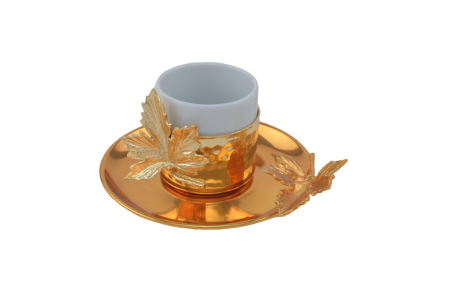 Picture of MEVLANA TURKISH COFFEE CUP GOLD LEAF