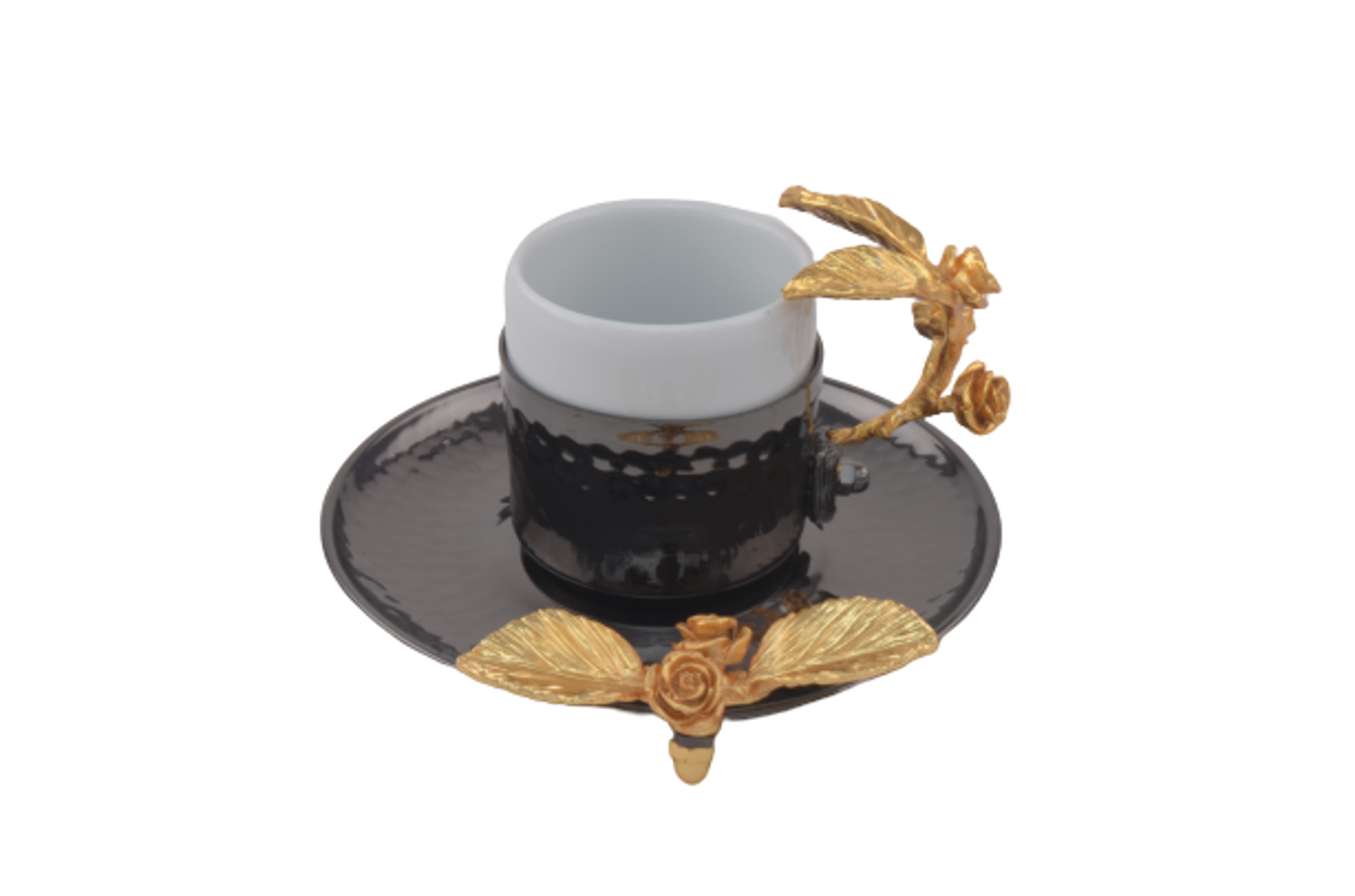 Picture of MEVLANA TURKISH COFFEE CUP BLACK J.G.