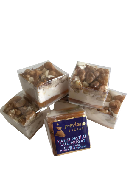 MEVLANA SPECIAL TURKISH DELIGHT NUGAT WITH WALNUT resmi