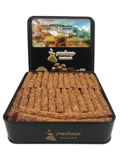 MEVLANA TURKISH DELIGHT FINGER WITH PISTACHIO AND KADAYIF POMEGRANATE FLAVOR resmi