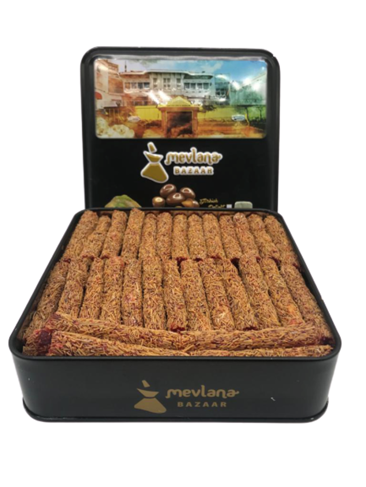 Picture of MEVLANA TURKISH DELIGHT FINGER WITH PISTACHIO AND KADAYIF POMEGRANATE FLAVOR