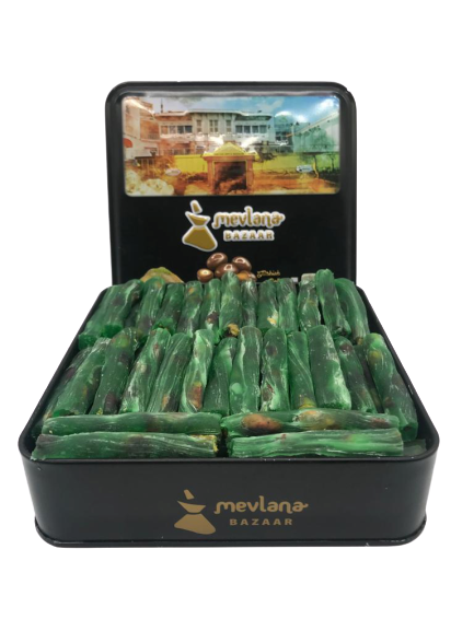 Picture of MEVLANA TURKISH DELIGHT FINGER WITH PISTACHIO AND APPLE FLAVOR